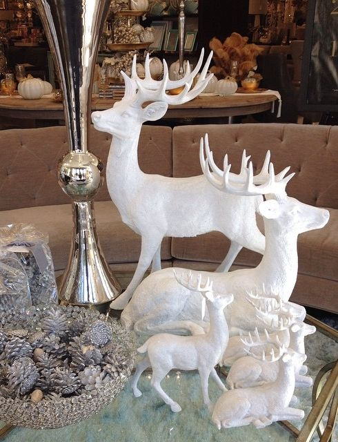 'Tis the season to sparkle and shine. Stop in soon to see our holiday decor. Photo snapped by @bellagrey_designs.