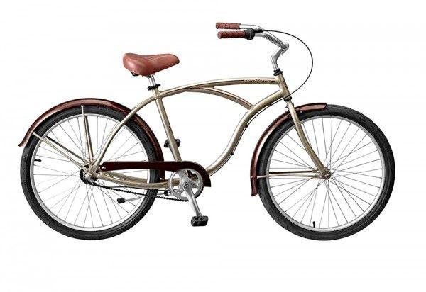"""Bicicleta com um design espectacular, a lembrar o estilo """"vintage"""". http://www.angelimoto.com"""