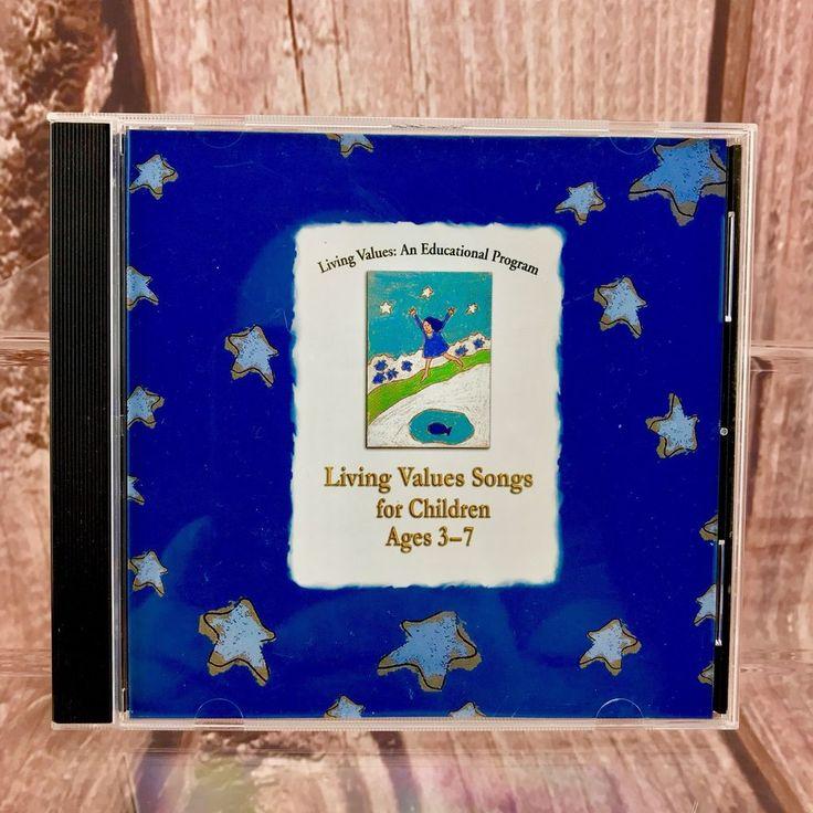 Living Values An Educational Program Cd Living Values Songs For Children Age 3-7
