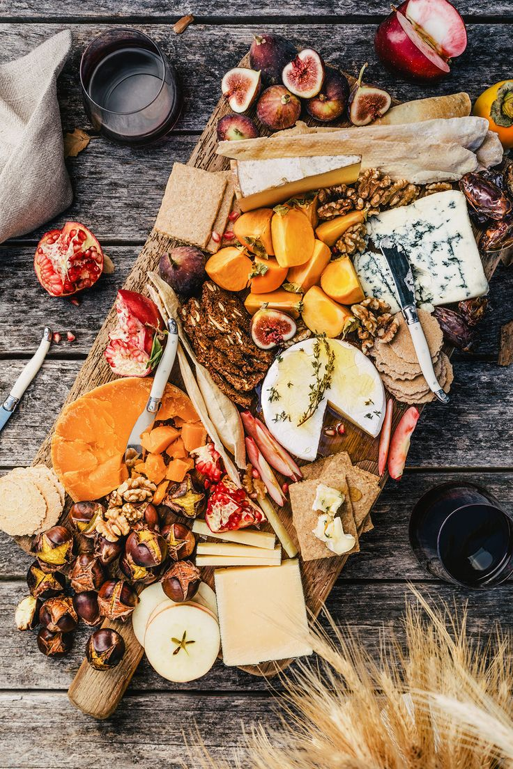 Fall-Inspired Cheese Platter by HonestlyYUM (honestlyyum.com)