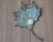 Verdigis Maple Leaf Doorbell.  $40