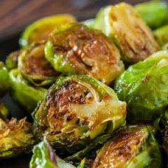 Brussels sprouts are delicious when roasted with only olive oil, salt, and pepper, but the balsamic vinegar deepens their flavor. I brought this recipe to Thanksgiving two years ago to accommodate several family members with food allergies, and it's become a family favorite. To keep this dish lactose-free, omit the Parmesan cheese.