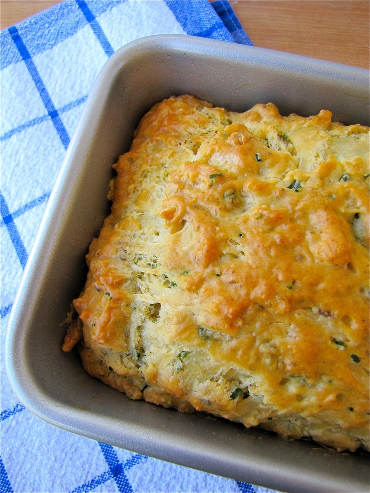 Savory Cheese and Chive Bread