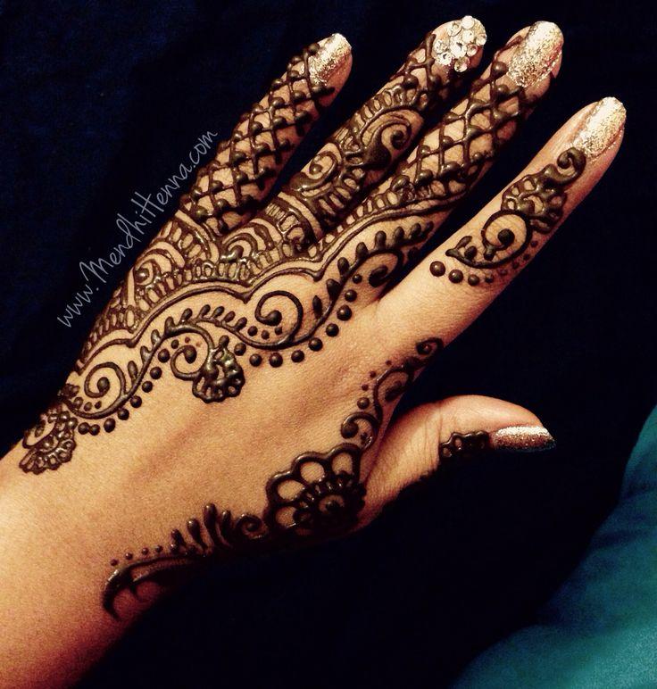 ️Henna Art INSTAGRAM @MendhiHennaArtist | Simple henna | Henna, Mehndi designs, Henna art