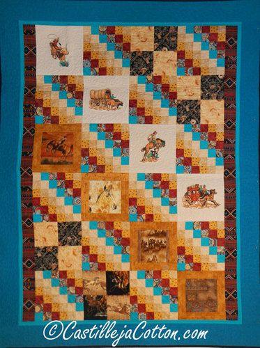 950 best Cowboy Quilt Ideas images on Pinterest | Cowboy quilt ... : cowboy quilt pattern - Adamdwight.com
