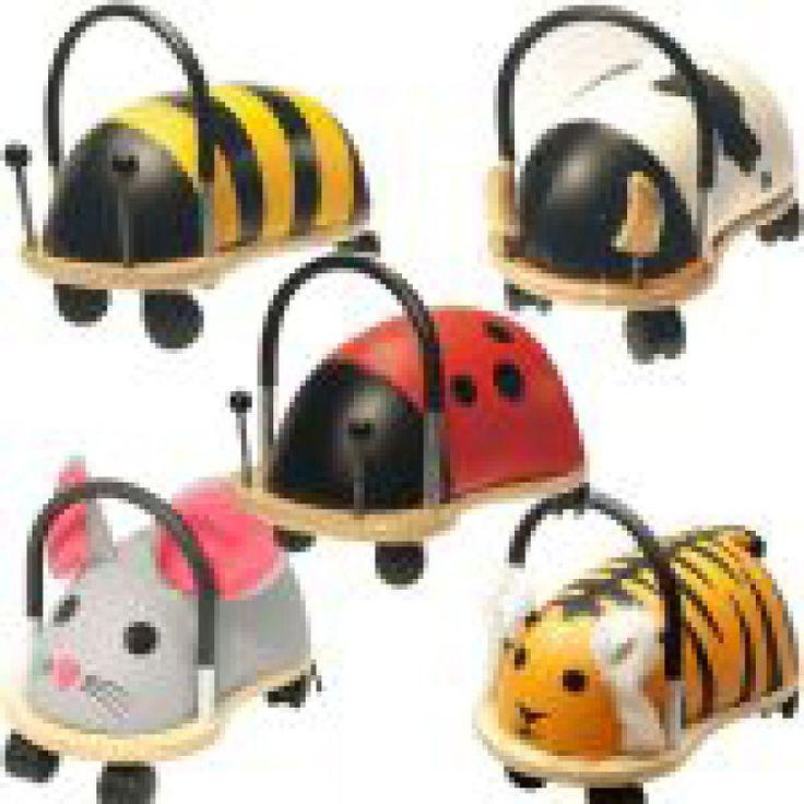 Moeilijk kiezen welke Wheelybug het mooiste is!