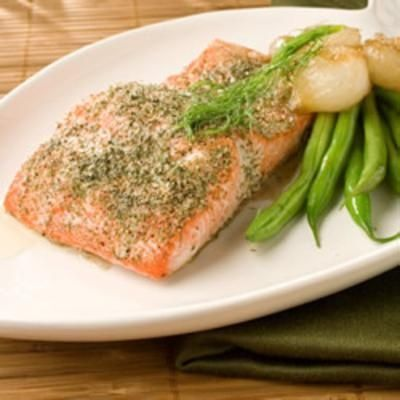 Salmon with Dill - Click image to find more Food & Drink Pinterest pins