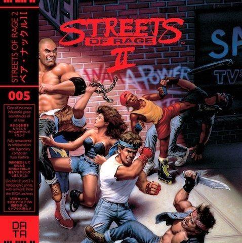 Streets of Rage 2 Video Game Vinyl Soundtrack 2 x LP