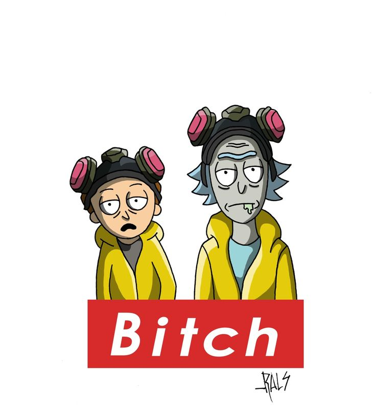 Rick and Morty Breaking Bad