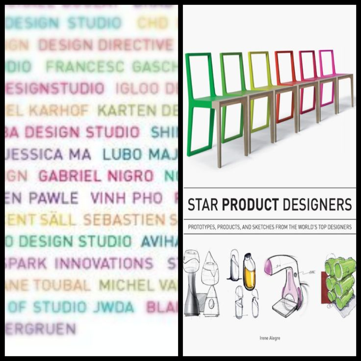 Harper Collins book Star Product Designers. Author Irene Alegre.