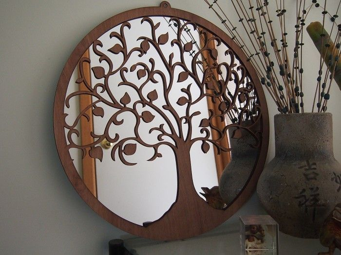 Tree Of Life Wall Art MIrror   By Bluemerlemilli On Madeit Part 73