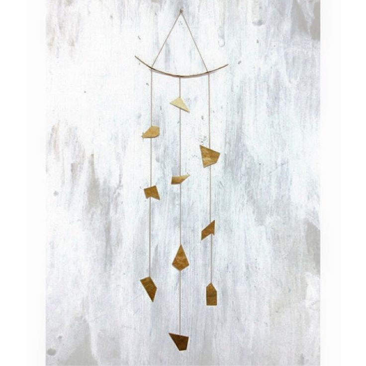Make a statement with this 3 strand mobile by @failjewelry . Perfect for hanging on the wall or from the ceiling. Organic hand-cut and made in Austin. ‪#‎jewelry‬ ‪#‎failjewelry‬ ‪#‎weheartit‬ ‪#‎frangipanimiami‬ ‪#‎wynwood‬