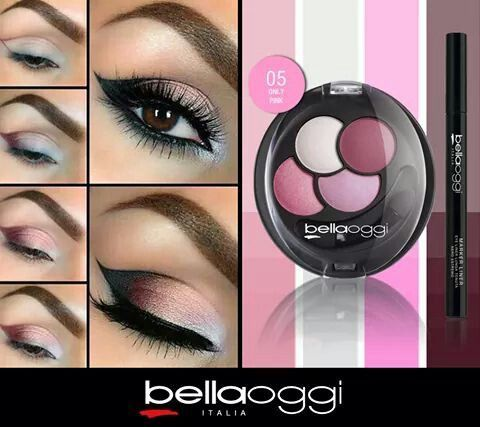 Olhos lindos com maquiagens BellaOggi