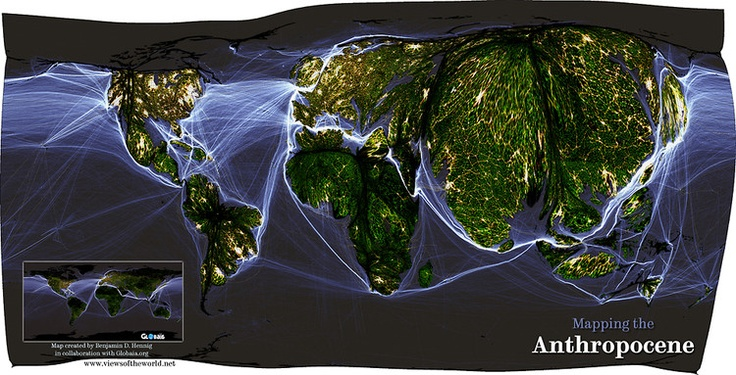 1 | Crazy Maps Show The World Organized By Human Activity | Co.Exist: World changing ideas and innovation