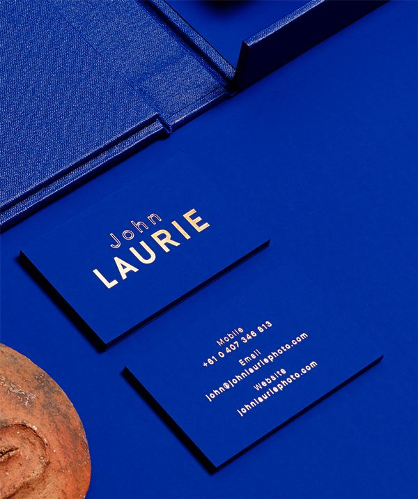 John Laurie - folio on Branding Served