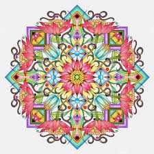 Cynthia Emerlye Vermont Artist And Kirigami Papercutter Cover Design For An Upcoming Mandala Book Colorful Mandalas