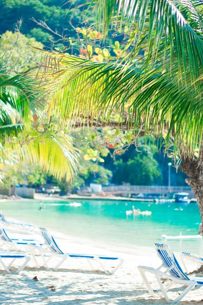 Labadee, Haiti | A dreamy private resort, Labadee is a snorkeler's paradise, with stunning coral reefs in lagoon-like bays off the coast. Cruise to Labadee exclusively through Royal Caribbean and sit back in a private cabana on the beach, or take flight in the world's longest zip line over water.