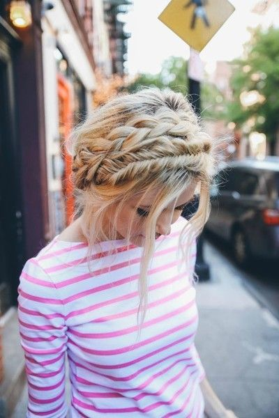 The Cutest Braided Crown Hairstyles on Pinterest