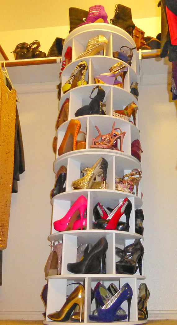 Spinning Shoe Rack stand alone