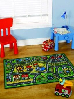 Matrix Kiddy Happy Town Rug 1