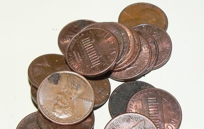 how to make pennies shiny clean
