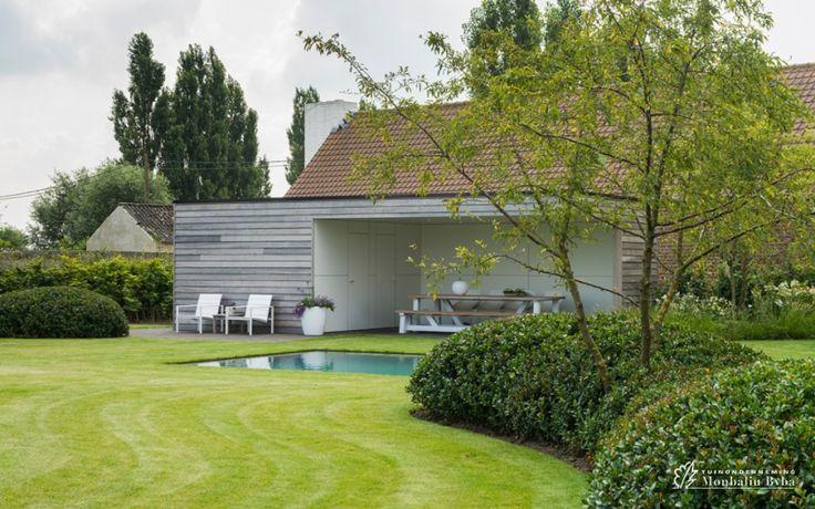 25 beste idee n over tuin structuren op pinterest tuinen pri len latwerk en tuinidee n - Aangelegde tuin ideeen ...