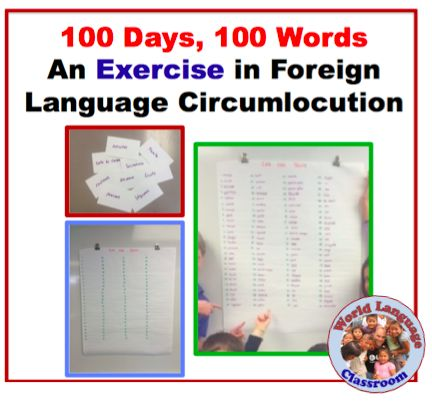 An Exercise in Foreign Language Circumlocution (French, Spanish) wlteacher.wordpress.com
