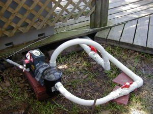 Pond pump and pond plumbing pond ideas pinterest for Koi pond plumbing