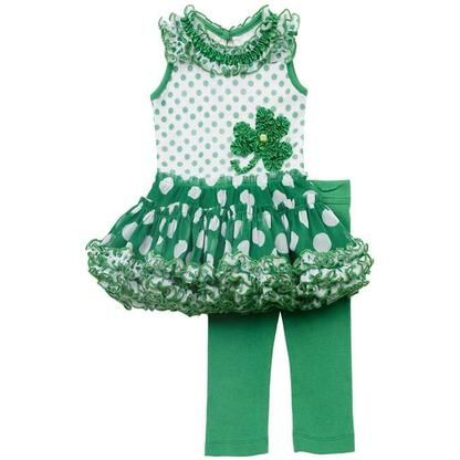 Super cute kids St. Patrick's Day outfit from Sears
