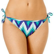 Chevron Tie Side Bikini Briefs