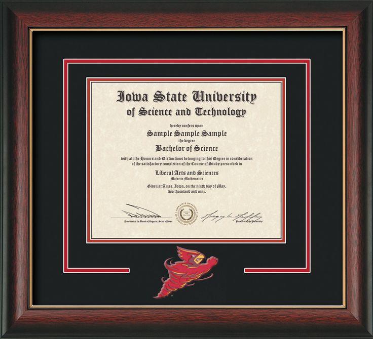 Increíble Universidad De Maryland Marco De Diploma Patrón - Ideas ...