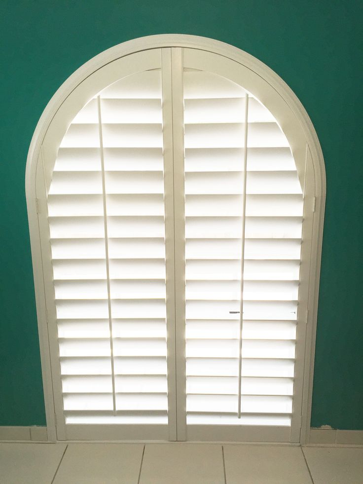 Arched Plantation Shutters By The Louver Shop. So Many Ways To Cover Your  Windows Perfectly