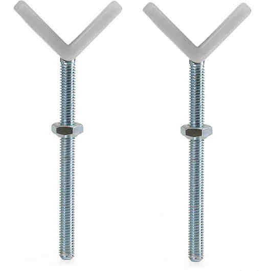 Mit den Y-Spindeln von Hauck können Sie die Hauck Türschutzgitter Open'n Stop und Wood Lock Safety Gate sicher an Treppengeländern mit Rundstäben befestigen. Sie können die Y-Spindeln auch an diesen Türschutzgittern verwenden, wenn diese bereits mit einer oder zwei Verlängerungen von 9 cm und/oder 21 cm erweitert wurden.<br /> <br /> Material:Metall<br /> <br /> Pflegehinweis:<br /> Abwaschbar, Handwaschbar<br /> <b...