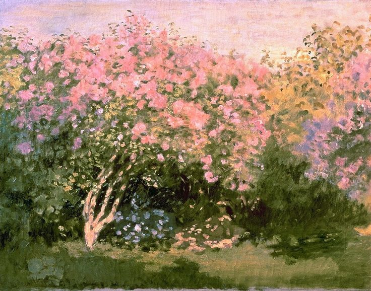 Lilac in the Sun by Claude Monet (France)
