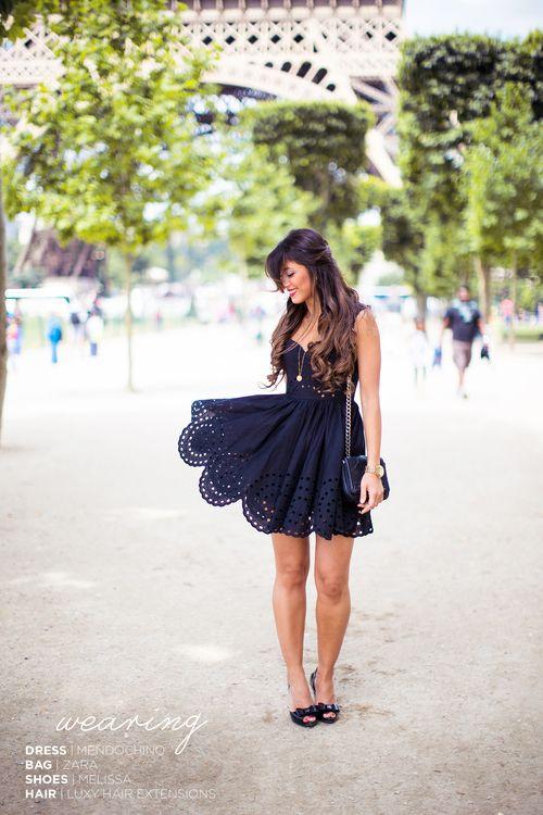 Mimi <3 ultimate fashion inspo. Hair + dress