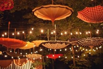 parasols...