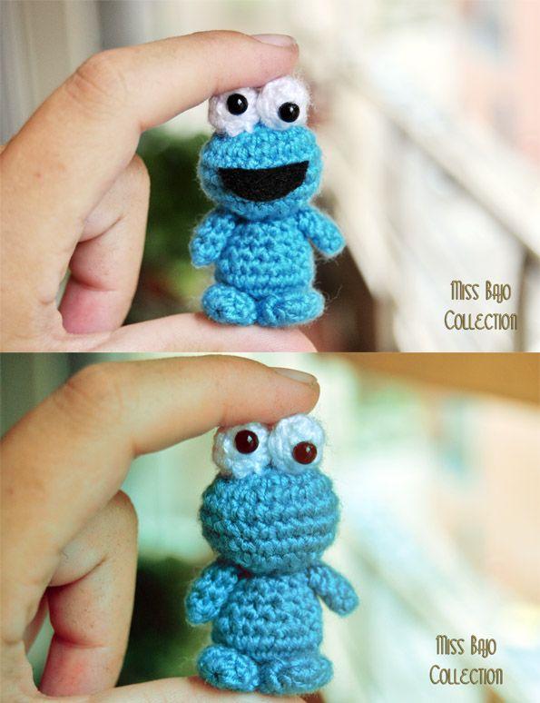 Cookie Monster amigurumi