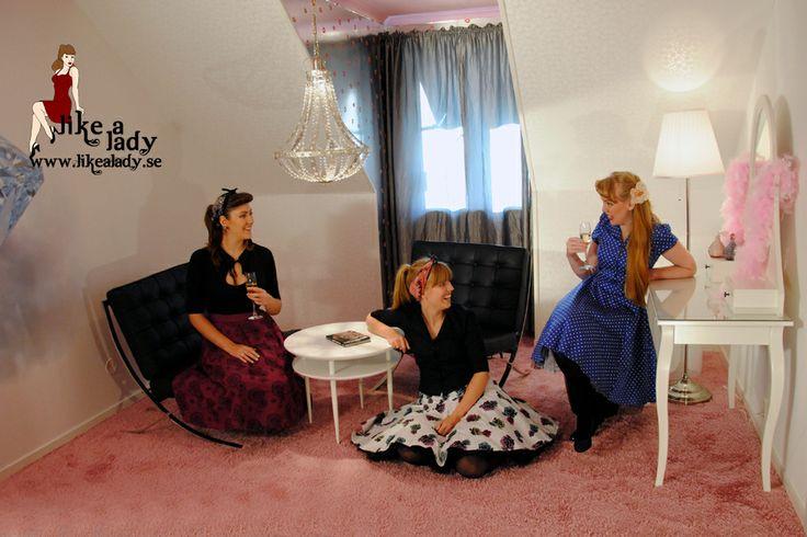 Marilyns rum på #dinern i # Kappelshamn