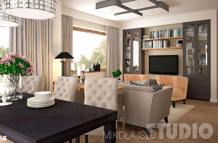 Salon w stylu eklektycznym - zdjęcie od MIKOŁAJSKAstudio - Salon - Styl Eklektyczny - MIKOŁAJSKAstudio
