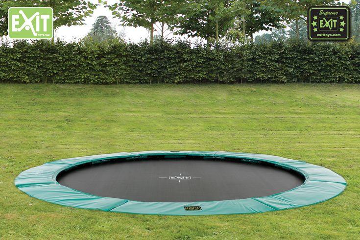 14ft Round Sunken Trampoline Kit. 5 STAR – Bounce Rate