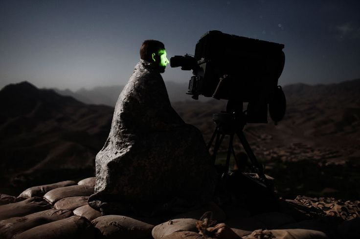 © adam ferguson - Afghanistan, a soldier of the U.S. Army 10th Mountain Division…