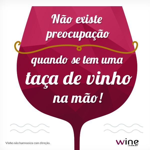 Aproveite seus melhores momentos com vinho! Eles ficarão melhores ainda! ;)…
