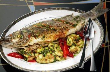 Сибас - полезные свойства рыбы и калорийность, рецепты приготовления блюд на сковороде и в духовке