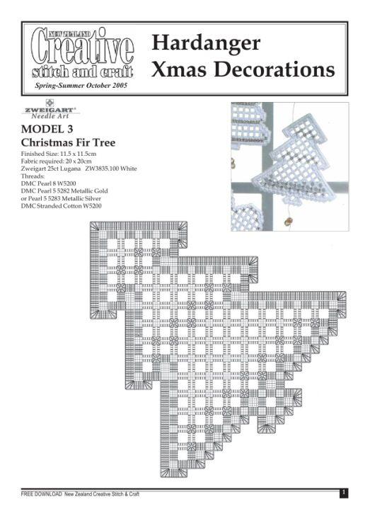 Hardanger Christmas Decorations