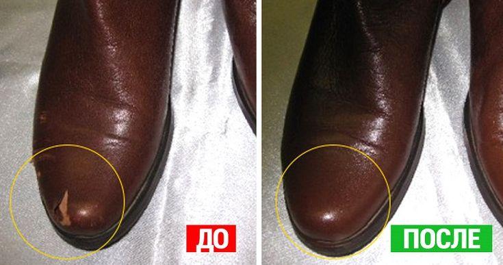 Обувь из кожи, кожаные сумки и кожаный диван — привела всё в порядок!