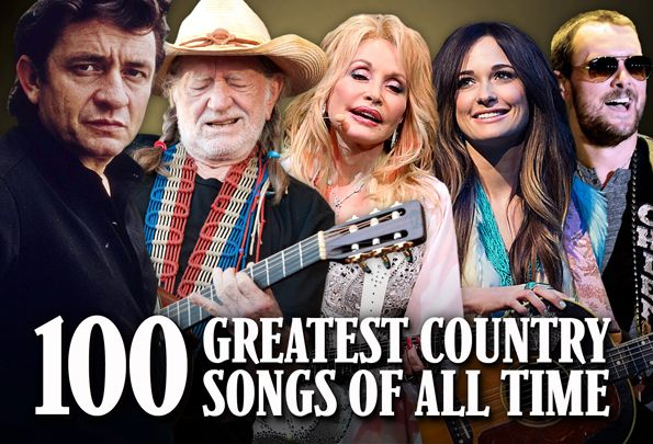 100 Greatest Country Songs of All Time - some real classics here but a few new ones that I don't believe belong just yet. ;)