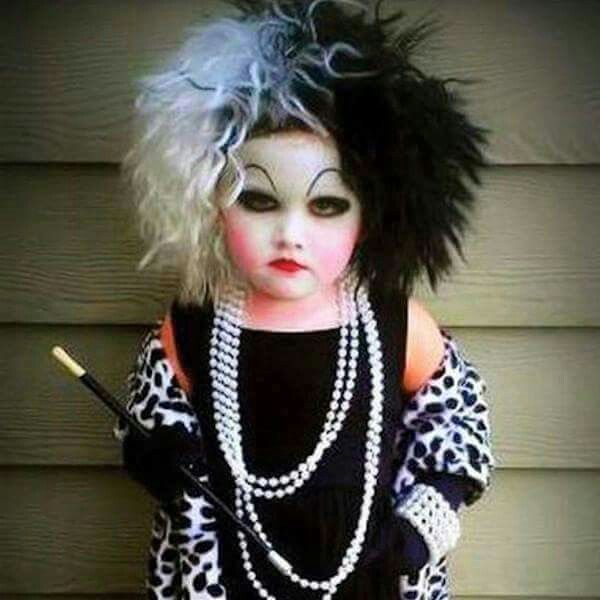 kids who totally win halloween page 34 daily bananas cruella deville - Funniest Kids Halloween Costumes