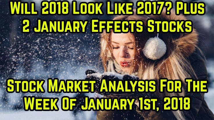 Will 2018 look like 17 in the stock market?- Stock market analysis for t...