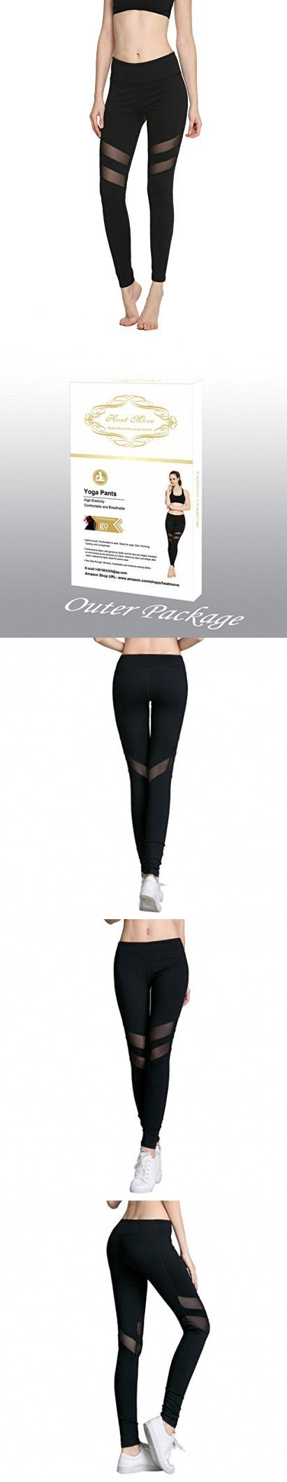 Women's Girl Mesh Stretchy Tights exercise Fitness Non see through Leggings Workout Gym Running Loungewear Yoga Pants (Black, X-Small)
