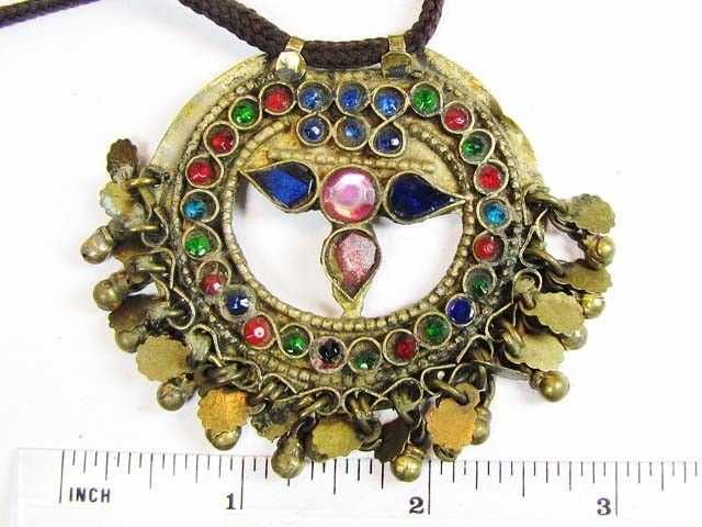 TRADITIONAL TIBETAN SILVER NECKLACE  120 CTS TR 869  FASHION ACCESSORY FROM JEWELERY-AUCTIONED.COM